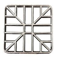 Square Alloy Gully Grid 120 x 120mm
