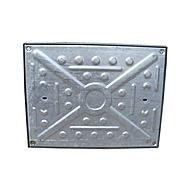 Galvanised Manhole Cover 600 x 450mm