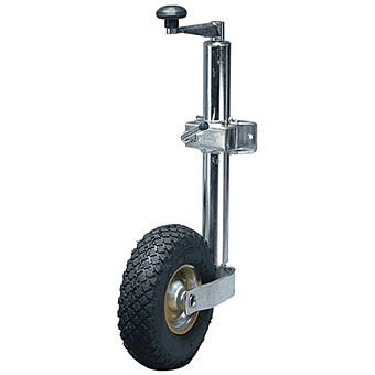 48mm Pneumatic Jockey Wheel With Clamp