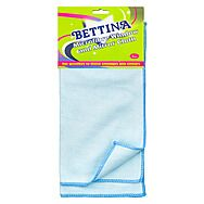 Bettina Microfibre Window & Mirror Cloth 2 Pack