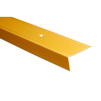 Picture of Trojan Gold Floor Angle Trim 45mm x 22mm x 900mm
