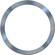 Bosch 2600100197 20 x 16 x 1.2mm Reduction Ring For Circular Saw Blades