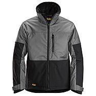 Snickers 1148 AllRound Winter Jacket | Grey/Black