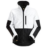 Snickers 1148 AllRound Winter Jacket | White/Black