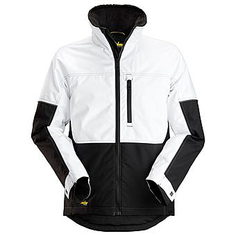 Picture of Snickers 1148 AllRound Winter Jacket | White/Black