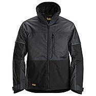 Snickers 1148 AllRound Winter Jacket | Steel Grey/Black