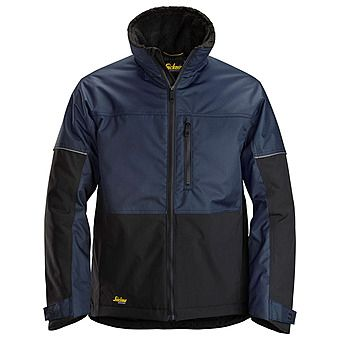 Picture of Snickers 1148 AllRound Winter Jacket | Navy/Black