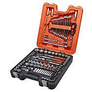 Bahco S138 Socket & Spanner 138 Piece Set