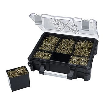 Forgefix 1200 Piece Spectre Screw Organiser