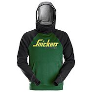 Snickers 2889 Forest Green/Black Logo Hoodie