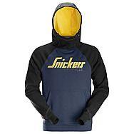Snickers 2889 Navy/Black Logo Hoodie