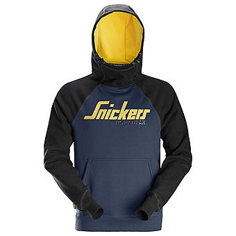 Picture of Snickers 2889 Navy/Black Logo Hoodie