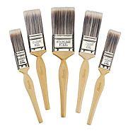 Harris Platinum Pack Of 5 Paint Brushes