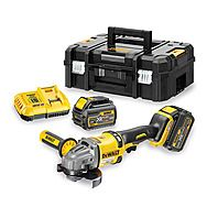 Dewalt DCG414T2 54V FlexVolt Cordless 125mm Angle Grinder 2 x 6.0Ah Batteries