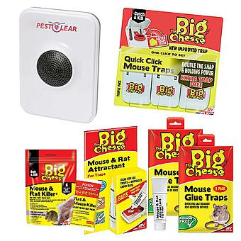 Picture of STV The Big Cheese Rodent Trap & Bait Value Bundle with Pest Clear Repeller