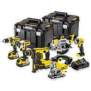 DeWalt DCK699M3T 18v XR 6 Piece Cordless Kit - 3 x 4.0Ah Batteries