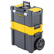 Stanley STST1-80151 3-in-1 Rolling Mobile Tool Centre Box