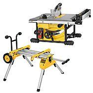 DeWalt DWE7485 210mm Table Saw & DE7400 Legstand Kit