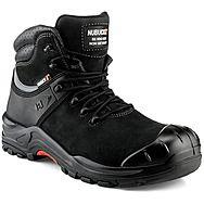 Nubuckz NKZ102BK Black Safety Boots S3 HRO WRU SRC