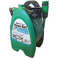 Streetwize 10m Hose Reel Kit With Sprayer