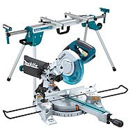 Makita LS0815FLN Compound Mitre Saw & Rolling Leg Stand DEAWST06