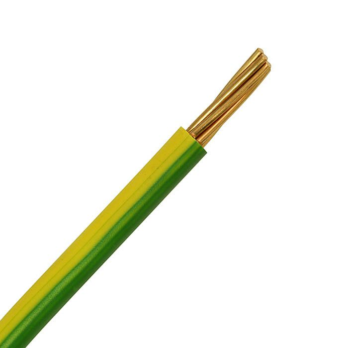 10mm Green And yellow earth bonding cable per meter Earth Bonding brand new
