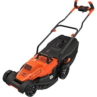 Black & Decker BEMW471BH 38cm 1600W Lawn Mower With Bike Handle