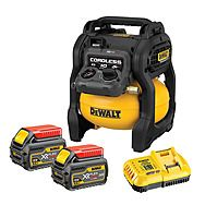 Dewalt DCC1054T2 54V XR FlexVolt 6.0Ah 10L Air Compressor
