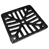 Square Cast Iron Gully Grid 150 x 150mm
