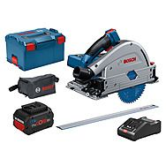 Bosch GKT 18V-52 GC 18v 140mm Plunge Saw 2 x 8.0Ah Batteries
