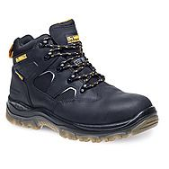 Dewalt Challenger Safety Work Boots Black Sympatex