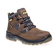 Dewalt Challenger Safety Work Boots Brown Sympatex