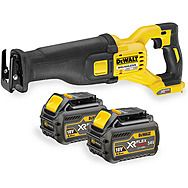 Dewalt DCS388T2 54V FlexVolt Reciprocating Saw 2 x 6.0Ah Batteries