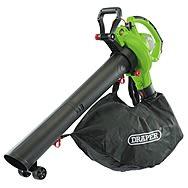 Draper 93165 3-in-1 Garden Vacuum, Blower & Mulcher 3200W 230v