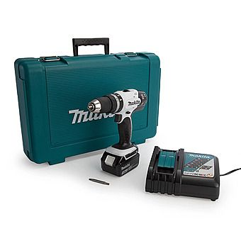 Picture of Makita DHP453RFW 18V 3.0Ah Combi Hammer Drill DHP453