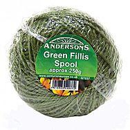 Green Fillis Spool Garden Twine 250g 150m