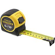 Stanley FatMax 5m/16' Tape Measure With Blade Armour 033719