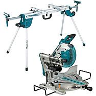 Makita DLS110Z 260mm Cordless 2x18v Mitre Saw Body Only & Folding Stand