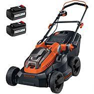 Black & Decker CLM3820L2 Cordless 38cm Lawnmower 2 x 36V 2.0Ah Batteries | Lawn Mower
