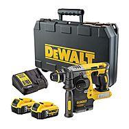 DeWalt DCH273P2 XR Brushless Rotary Hammer Drill 18 Volt 5.0Ah SDS-Plus