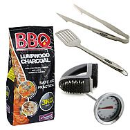 BBQ Utensils, Fuel & Cleaning