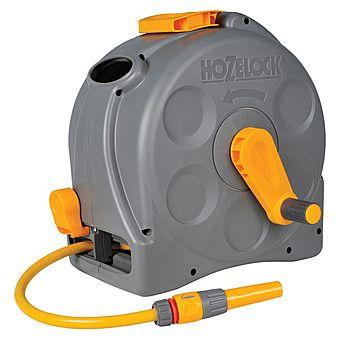 Hozelock Compact Hose Reel 25 Metre 2 In 1 Compact Reel 2415