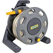 Hozelock 2412 25m Hose Reel With Fittings