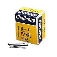 Challenge 25mm Bright Panel Pins 50g Box
