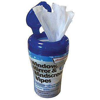 Window, Mirror & Windscreen Wipes 25 Pack