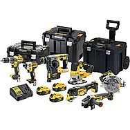 DeWalt DCK755P3T 7 Piece Brushless 18v Cordless Powertool Kit 3 x 5.0Ah Batteries