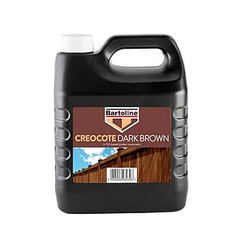 Bartoline Creocote Dark Brown Timber Treatment 4 Litres