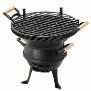 Grill Chef Cast Iron Charcoal BBQ