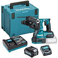 Makita HR003GD101 40Vmax XGT SDS Plus Rotary Hammer Drill 2.5Ah Battery