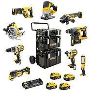 Dewalt 18v XR ALL Brushless 9pc Cordless Power Tool Kit